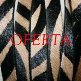 3-Cebra Marron de 10mm x cm