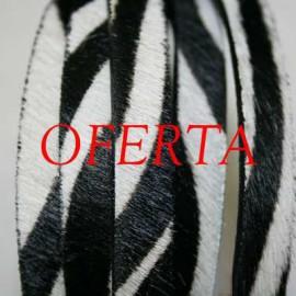 3-Cebra Neg. de 10mm x cm