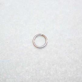 Anilla bañada en plata de 8mm