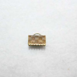 Terminal 10x7mm bronce