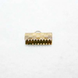 Terminal 15x8mm bronce
