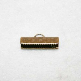 Terminal 20x8mm bronce