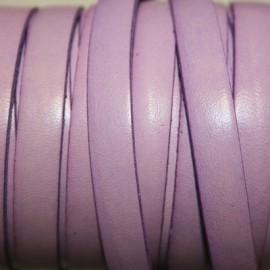Cuero plano lila 10mm
