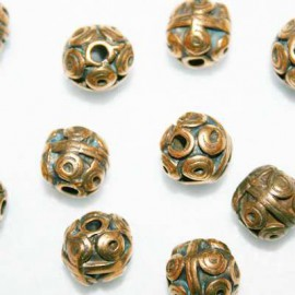 Círculos bronce