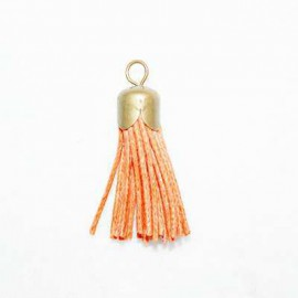 Naranja con casquillo bronce