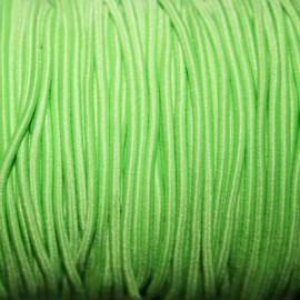 Elástico 2mm verde cl.