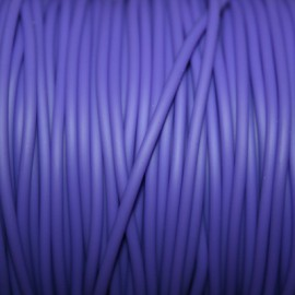 Caucho violeta 2mm hueco