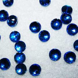 Cabujon Redondo Mini Azul