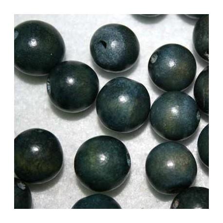Bola madera azul grisaceo 15mm