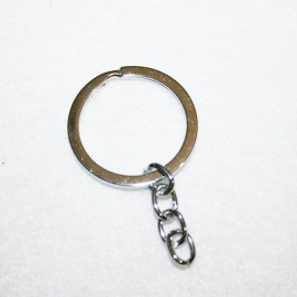 Anilla llavero 32mm con cadena