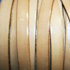 Cuero plano natural 10mm