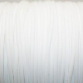 Caucho blanco 2mm hueco