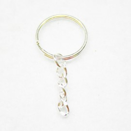 Anilla llavero 25mm con cadena