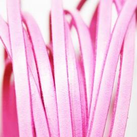 Cuero plano rosa 5mm