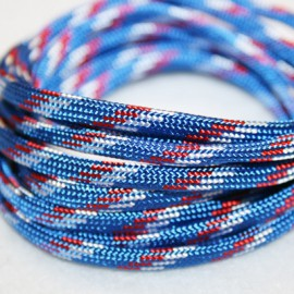 Paracord 5mm plano azul