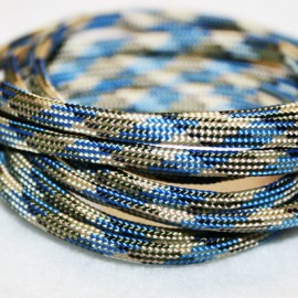 Paracord 5mm plano beige
