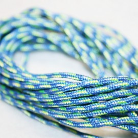 Paracord azul 2mm