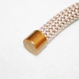 Tope para cordón 10mm latón