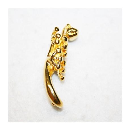 Salamandra en dorado