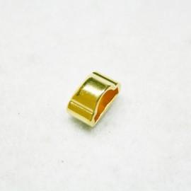 Tope modulado dorado