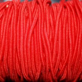 Elastico 2mm rojo