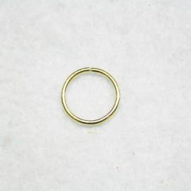 Anilla dorada de 14mm
