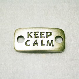 "Conector ""Keep calm"""
