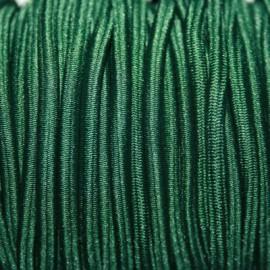 Elástico 4mm verde