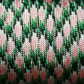 Paracord 5mm plano rosa cl.