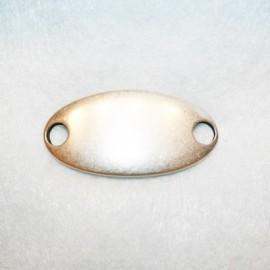 Chapa oval