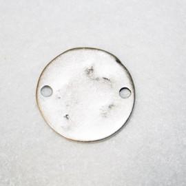 Chapa martillada 2 agujeros