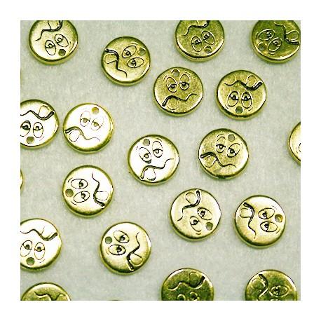 Emoticono Nº1 dorado