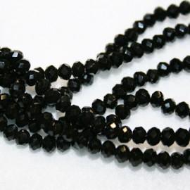 Cristal facetado negro