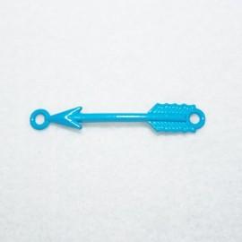 Conector flecha en azul