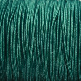 Elástico 2mm verde oscuro