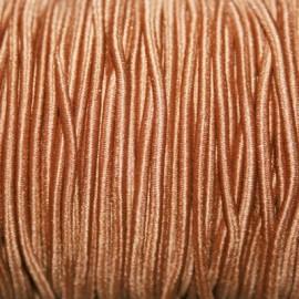 Elástico 2mm marrón claro