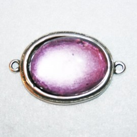 Conector resina violeta