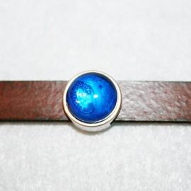 Paso c/resina azul