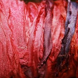 Tira seda rustica red
