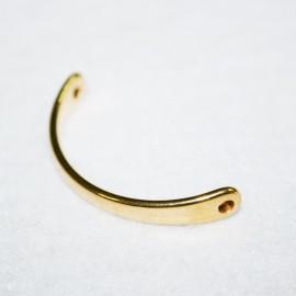 1/2 barra p/pulsera dorada