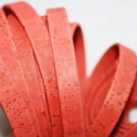 Corcho plano rojo