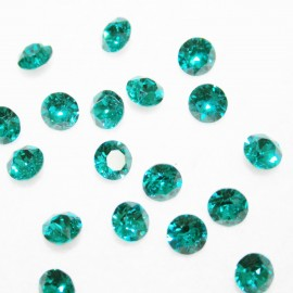 Swarovski blue zircon 6mm
