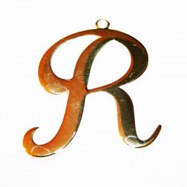 Letra XXL R dorada