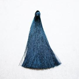 Pompón azul marino