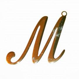 Letra XXL M dorado