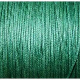 Hilo algodón verde oscuro