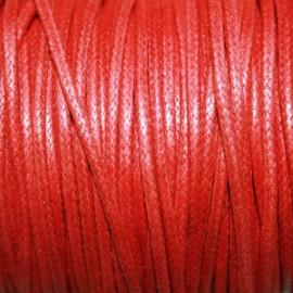 Hilo algodón rojo