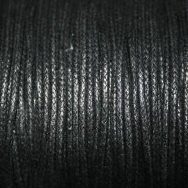 Hilo algodón negro