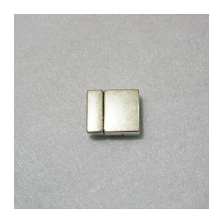 Cierre Plano p/6 Cueros de 2mm
