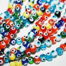 Tira ojitos de colores